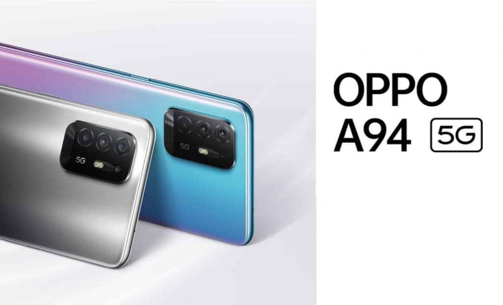 Oppo A94 5G With MediaTek Dimensity 800U SoC Launched