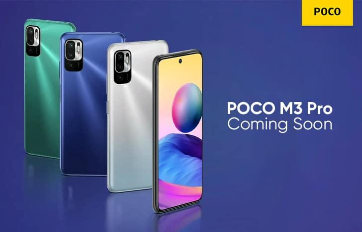 POCO M3 Pro 5G handset bags NBTC certification