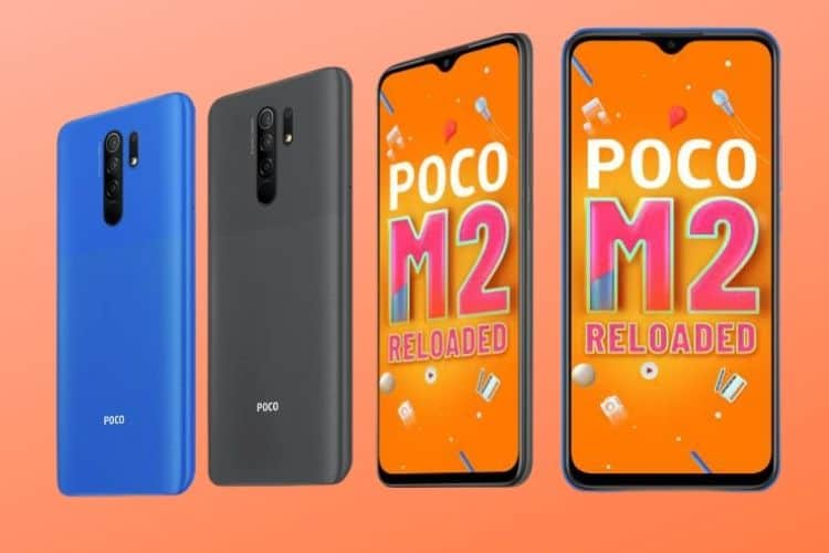 Poco M2 Reloaded is an affordable offering of the Poco M2 with 4GB of RAM.