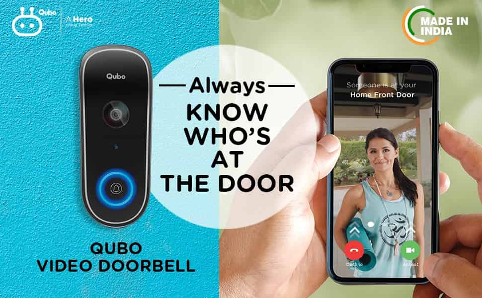 Qubo Video Doorbell Launched With One Touch Video Call Support