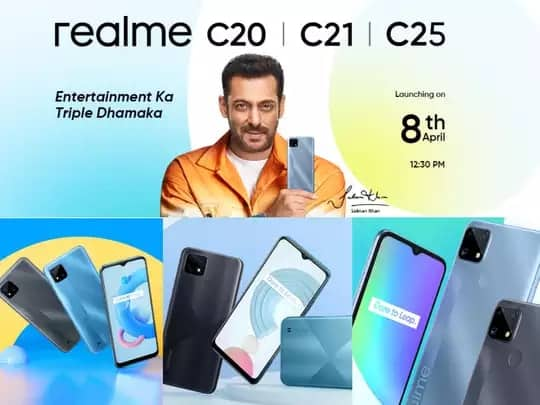Realme C25, C21 and C20 budget phones launched in India