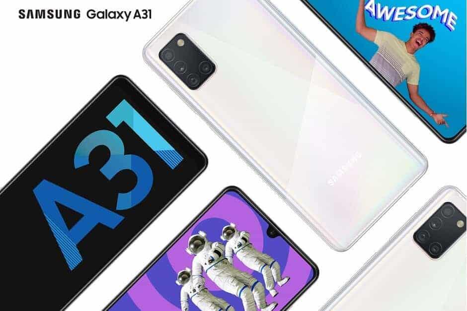 Samsung Galaxy A31 Price Slashed