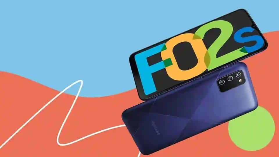 Samsung Galaxy F02s first sale to take place today
