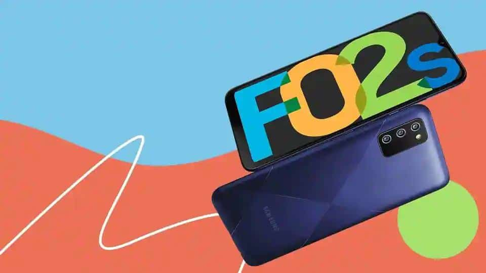 Samsung Galaxy F02s with triple rear cameras, 5000mAh battery launched