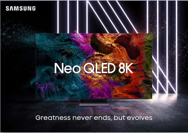 Samsung launches 4K and 8K neo QLED TV in India