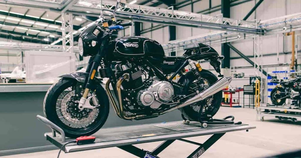TVS-owned Norton motorcycles opens new factory in Solihull