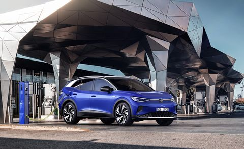 Volkswagen ID.4 GTX unveiled with refreshed look