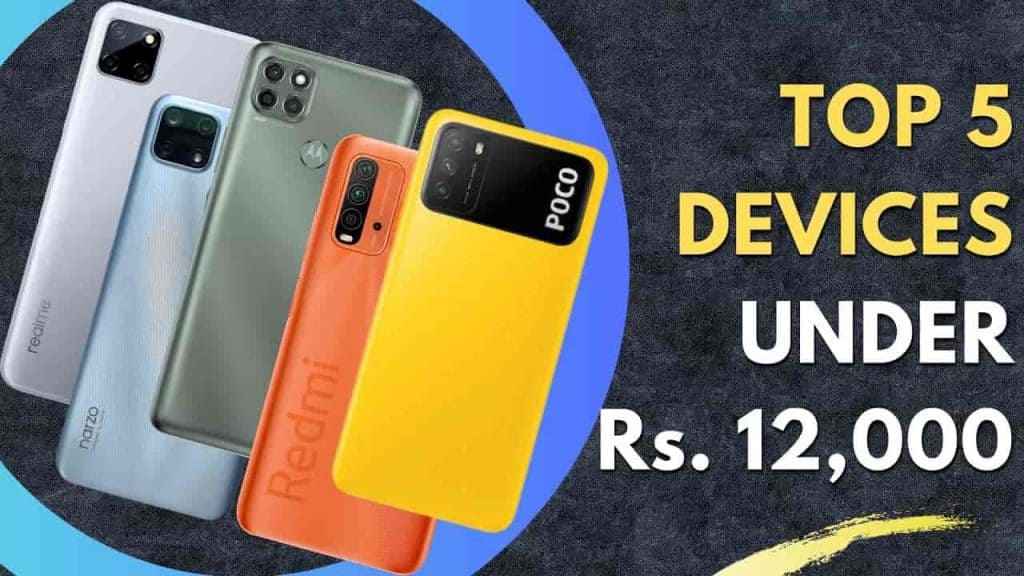 top-5 phones with a 6000mAh battery and 128GB storage