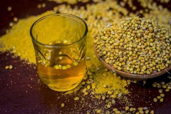 health benefits of coriander water