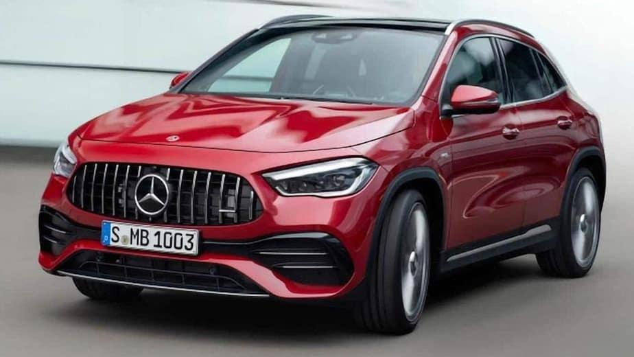 2021 Mercedes-Benz GLA debuts in India