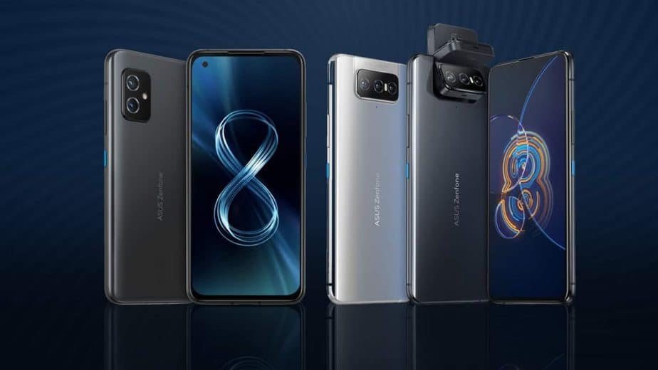 Asus Zenfone 8 Flip with rotating cameras, compact Zenfone 8 launched