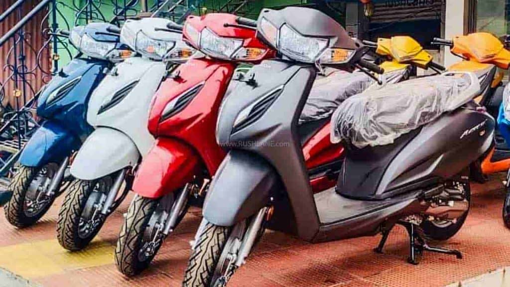 Honda Activa 6G available with cashback
