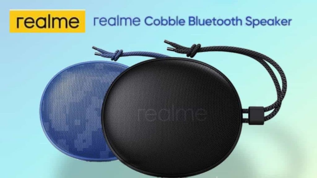 Realme Cobble Bluetooth Speaker launched with 9 hours of playback time, IPX5 rating and more