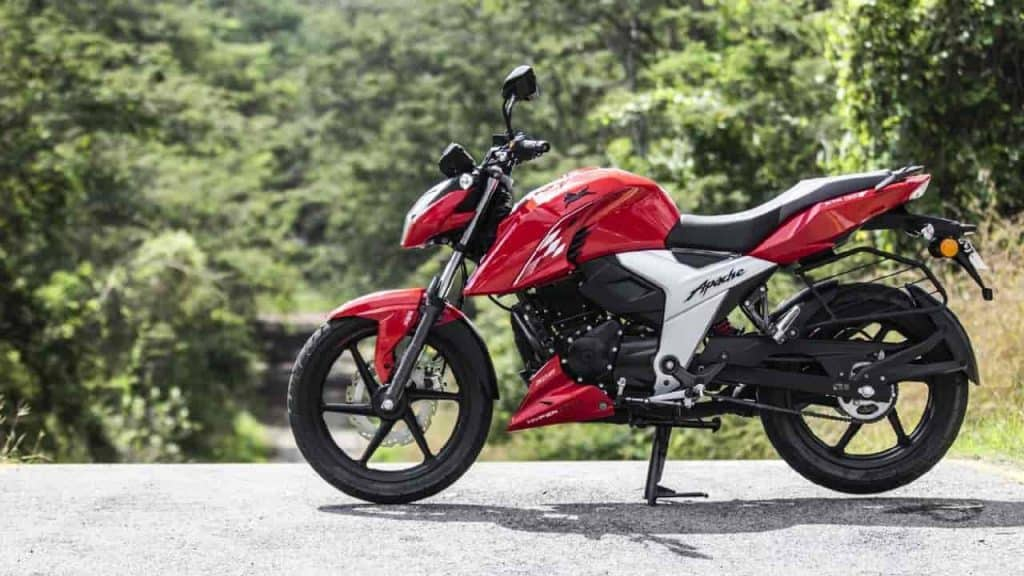 TVS Apache RTR 160 4V prices hiked
