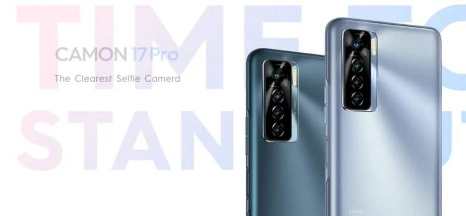 Tecno Camon 17 Pro With 48MP Selfie Camera Launched