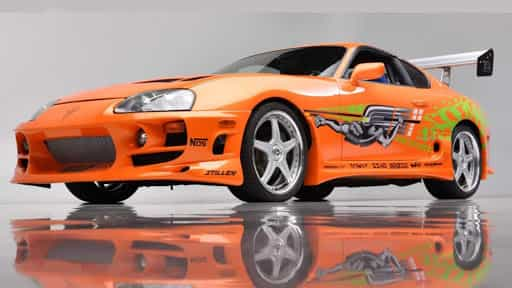 Paul Walker's Toyota Supra up for auction