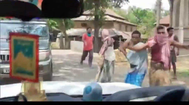 west bengal minister car attack - updatenews360