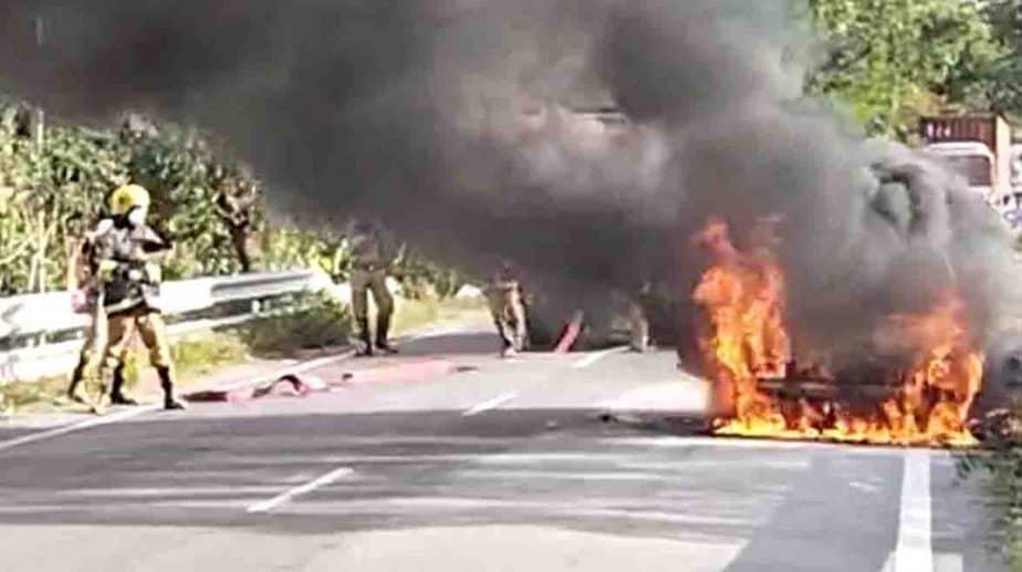 Car Fire - Updatenews360