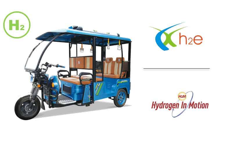 Hydrogen-Powered Three-Wheeler Under Development By H2E Power Systems