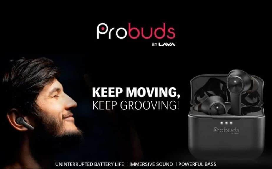 Lava Probuds true wireless earphones launched