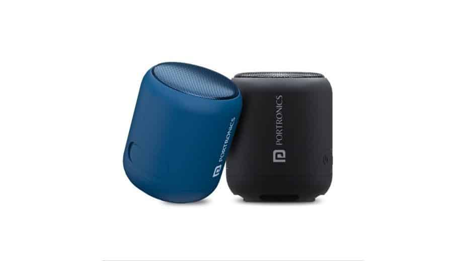 Portronics SoundDrum 1 Bluetooth speakers launched in India