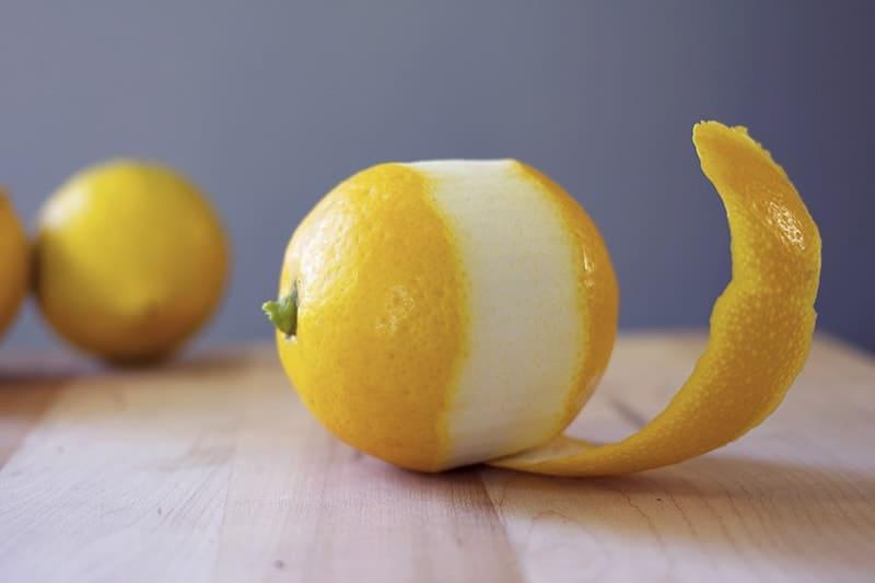 health benefits of lemon peel