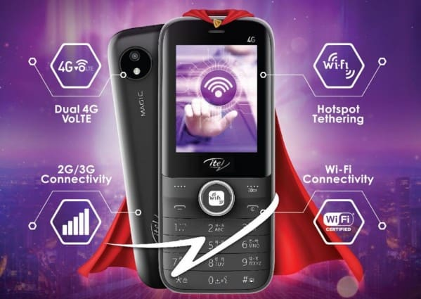 itel Magic 2 4G Feature Phone Launched in India