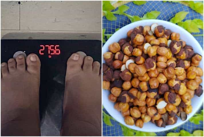 roasted chana for weight loss