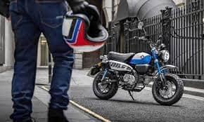 2022 Honda Monkey bike, with Euro 5-compliant 124cc engine, unveiled