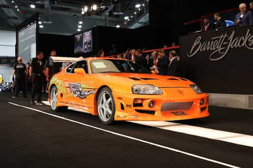 Paul Walker's Toyota Supra sold for around Rs. 4 crore