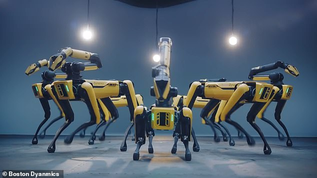 dance with robots to celebrate Hyundai's latest acquisition