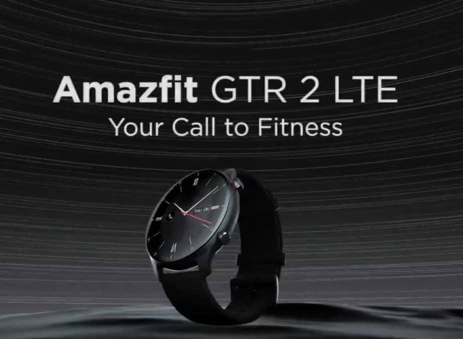 Amazfit GTR 2 LTE smartwatch announced