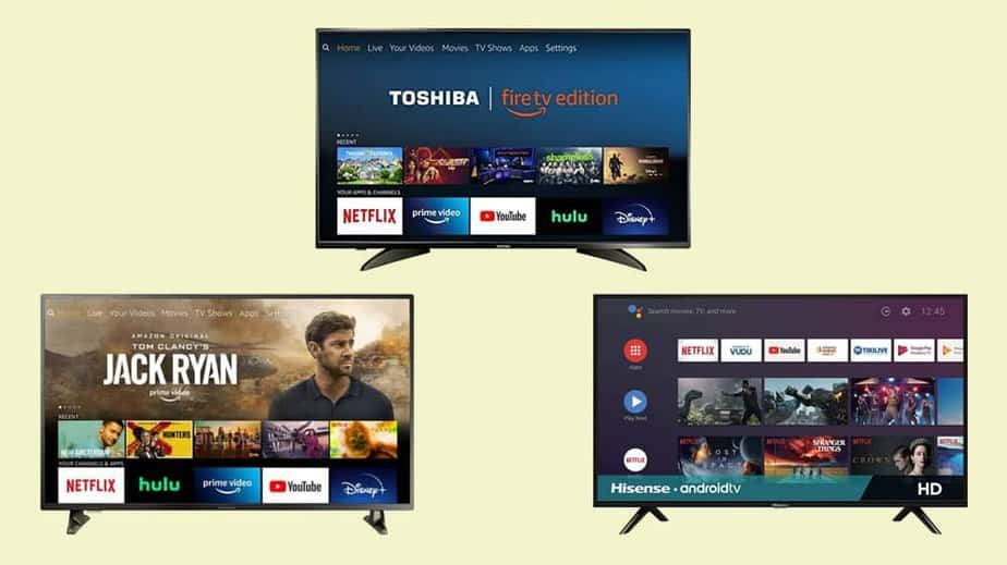 Best Smart TVs With up to 43-Inch Screen Under Rs 25,000 in India in July 2021