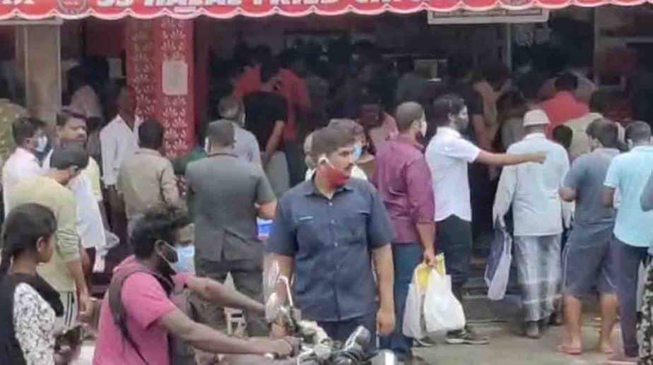 Biriyani Hotel Crowd- Updatenews360