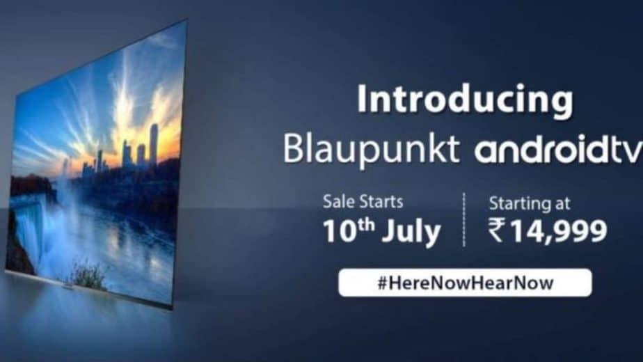 Blaupunkt launches Cybersound TV series