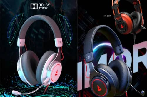 BoAt Immortal 1000D gaming headphones launched in India