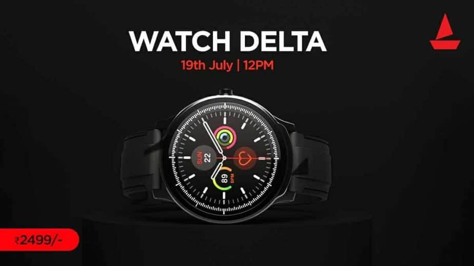 Boat Watch Delta With 300+ Watch Faces Launched At Rs. 2,499; Where To Buy