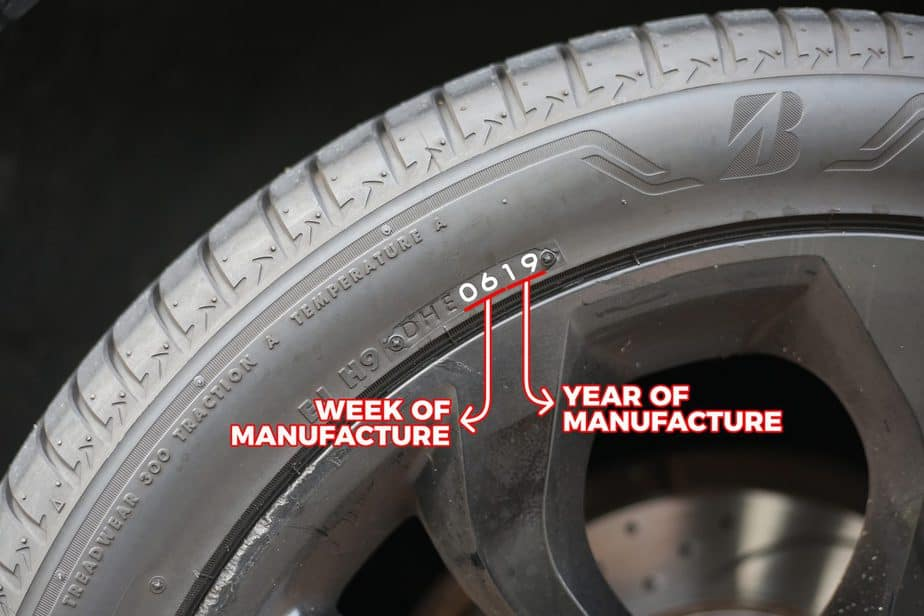 How to Check the Age of a Tyre