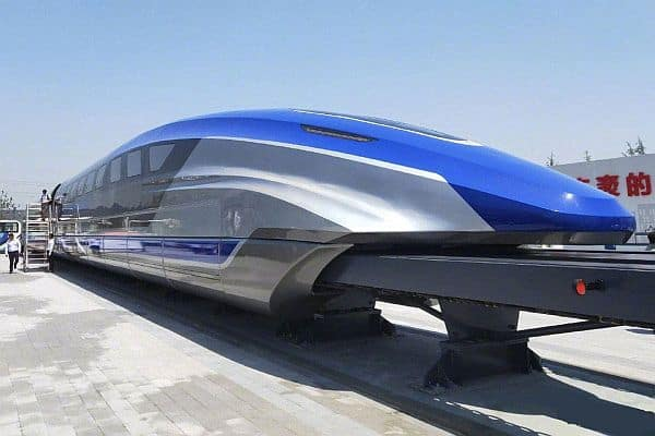 China Unveils New Maglev Train