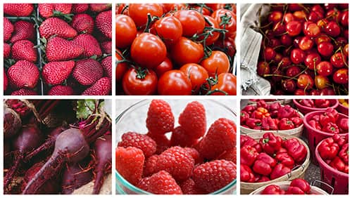 Red fruits and vegetables aren't just the color of your heart — they can help protect it, too.
