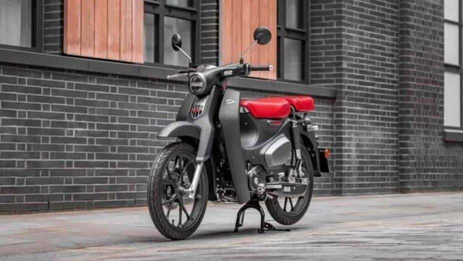 Honda launches its 2022 Super Cub moped in Europe