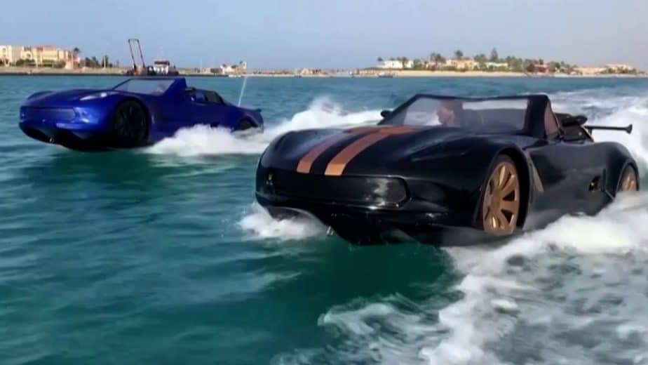 Man in Egypt Builds Car That Drives on Water