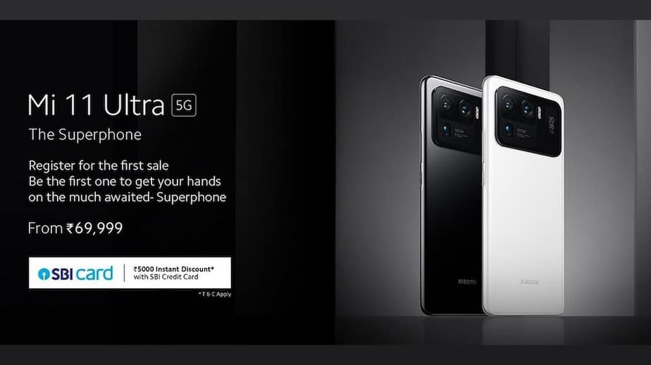 Mi 11 Ultra to go on sale on July 7