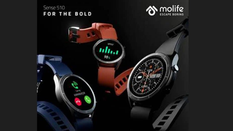 Molife launches Sense 510 smartwatch