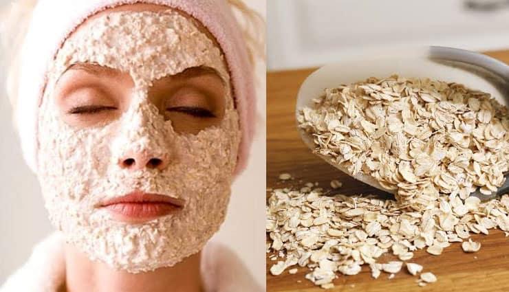 beauty benefits of Oats And Lemon Face Pack