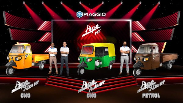 Piaggio Ape HT Three-Wheelers Launched In India