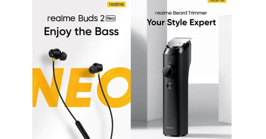 Realme Buds 2 Neo earphones, trimmer and hair dryer launched in India