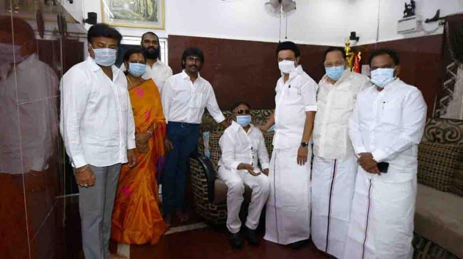 Stalin Meet Vijayakanth- Updatenews360