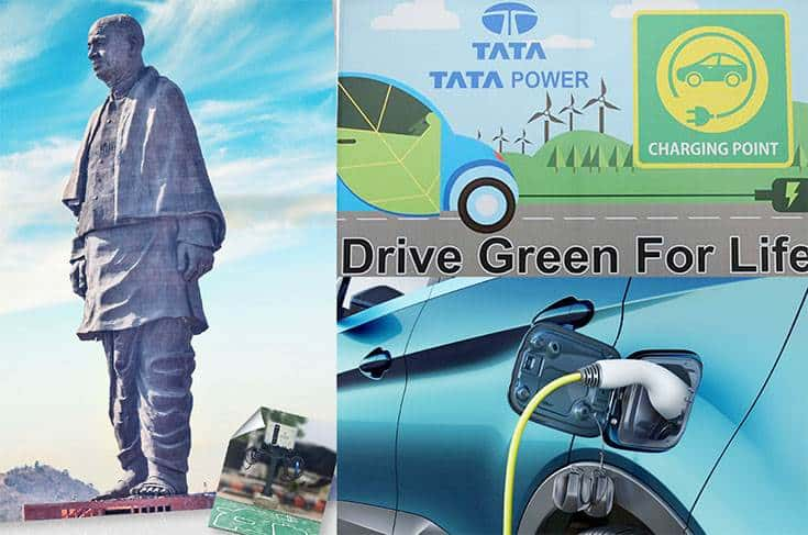 Tata Power sets up fast EV charging station at Statue of Unity, Gujarat