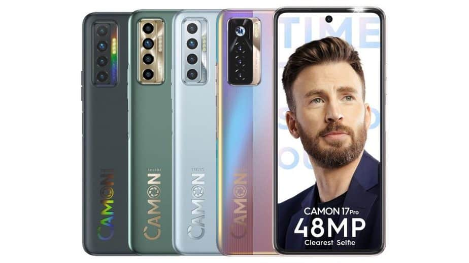 Tecno Camon 17 Pro and Camon 17 have been launched in India via Amazon. They have already been announced earlier in African markets.